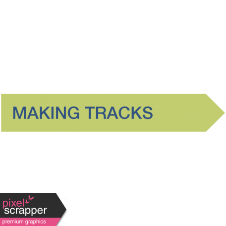Making Tracks Label (Right)