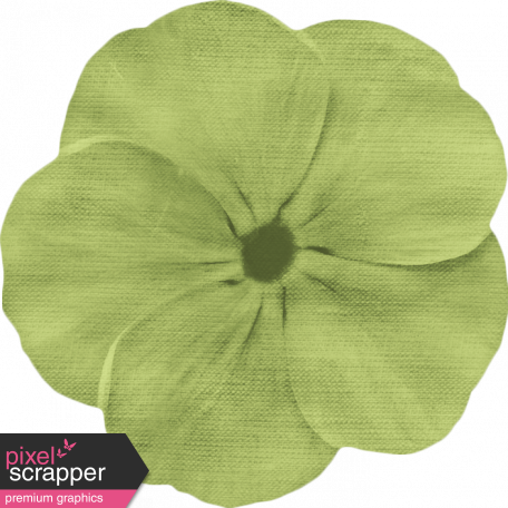 Lilies - Fabric Flower - Green