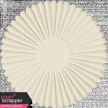 Paper Flower 14 - White