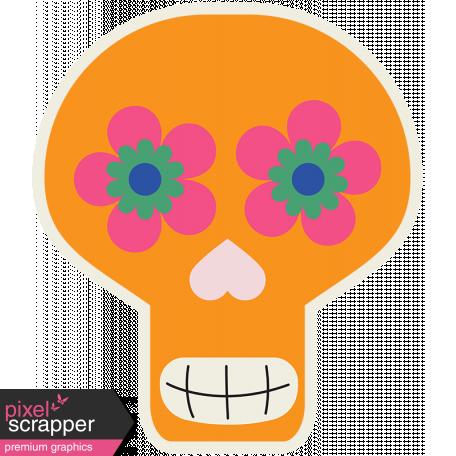 Skull Sticker 01 - Mexico