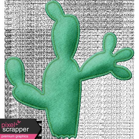 Felt Cactus 02 - Mexico