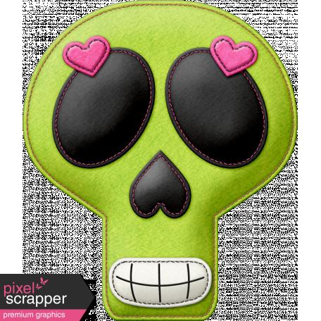 Felt Skull 02 - Mexico