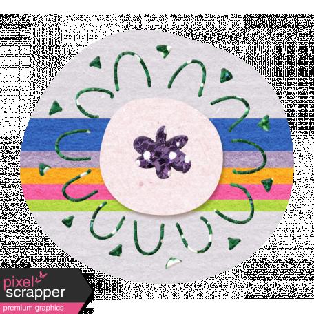 Glitter Flower Set 022l - Mexico