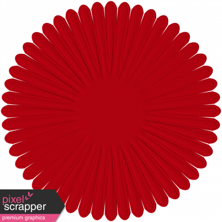 Paper Flower 14 - Red