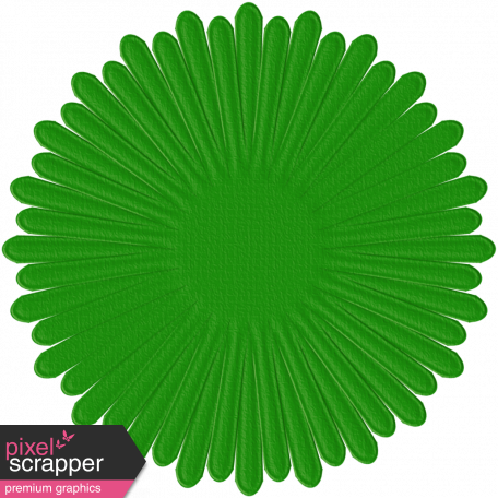 Paper Flower 15 - Green