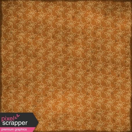 Floral Paper - Brown