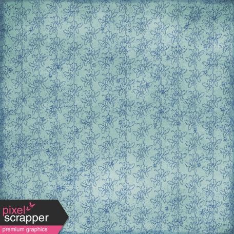 Floral 70 - Blue