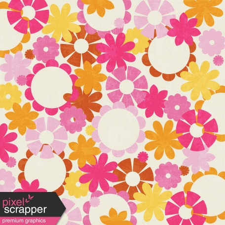 Floral Paper - Boo!