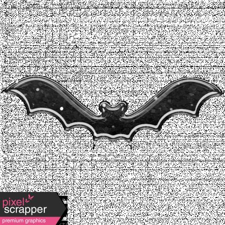 Plastic Glitter Bat