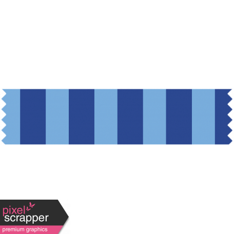 World Cup Washi Tape - Blue Stripes