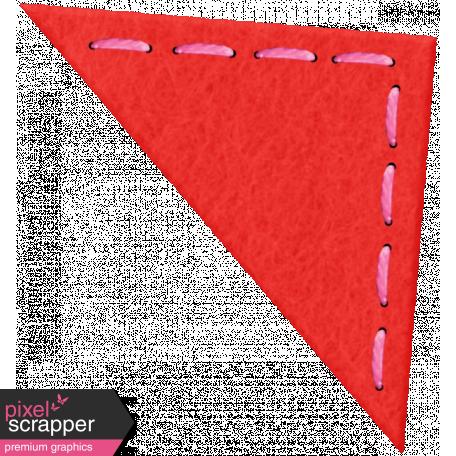 Red Felt Corner
