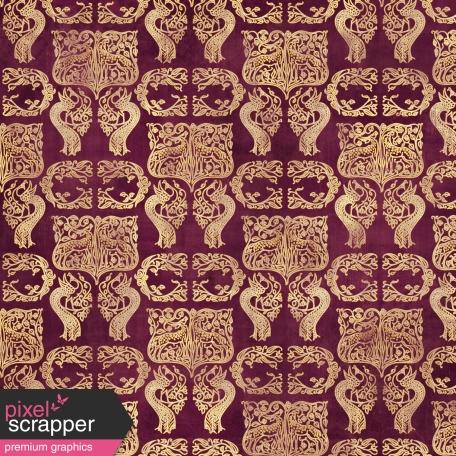 Ornamental Paper 38 - Purple