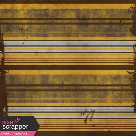Stripes 101 Paper - Brown & Yellow