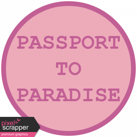 Cruising Elements - Passport To Paradise Label