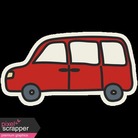 Road Trip - Van Sticker