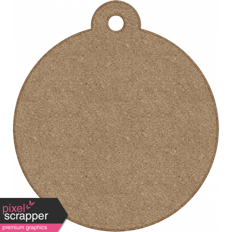 Tag Shape 06 - Chipboard 6
