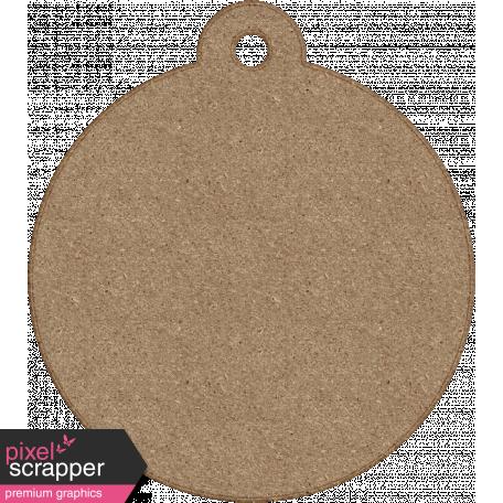 Tag Shape 06 - Chipboard 6