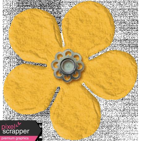 Spring Fields Flower - Yellow