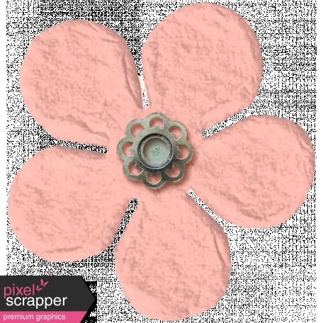 Spring Fields Flower - Light Pink