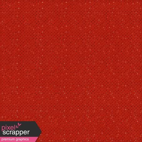 Polka Dots 19 - Red Glitter