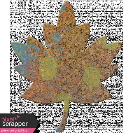 Bolivia Cork Elements - Maple Leaf Painted