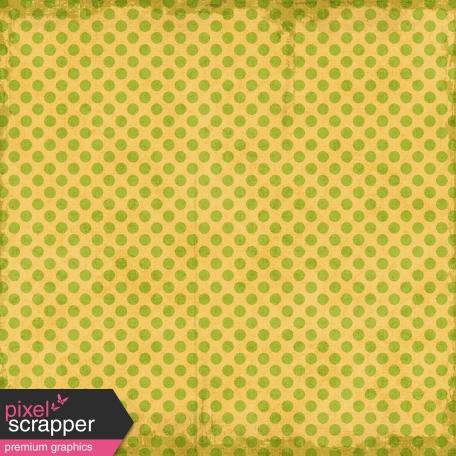 Polka Dots 23 - Yellow & Green - Distressed