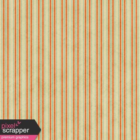 Stripes 02 - Tan, Orange, Teal