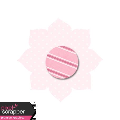 Light Pink Polka Dot Flower