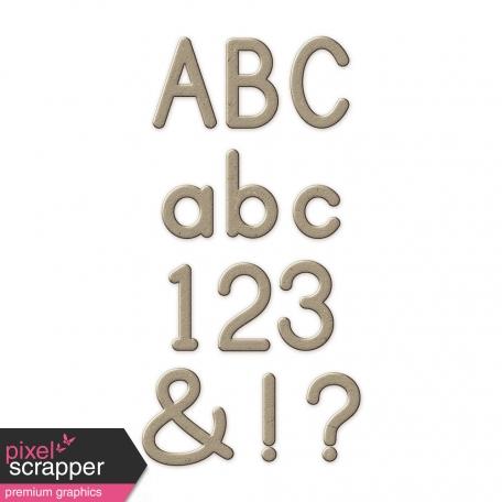 Chipboard Sans Serif Alpha