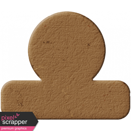 Tab 12 - Brown Chipboard