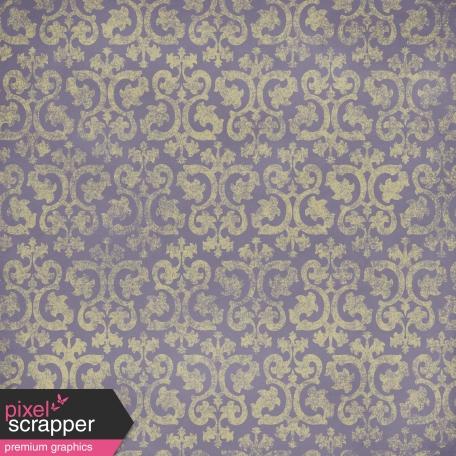 Ornamental Paper - Purple & Yellow