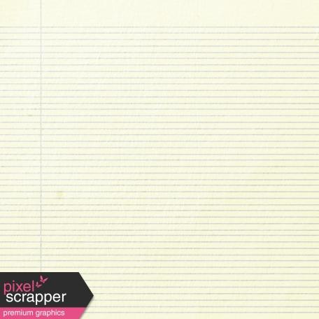 Notebook Paper 02 - Cream