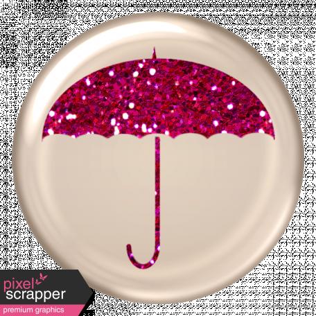 Glitter Umbrella Brad