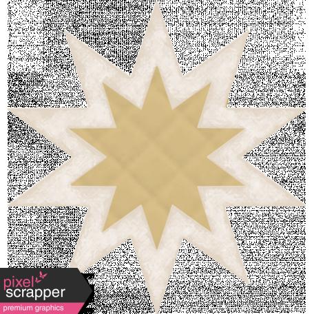 Textured Grunge Star 09