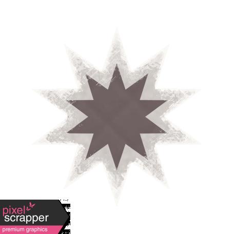 Textured Grunge Star 22