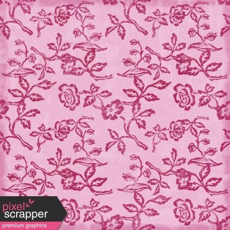 Floral Paper - Pink
