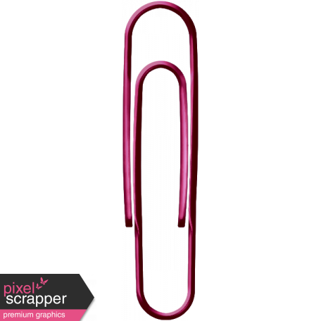 Paper Clip - Pink