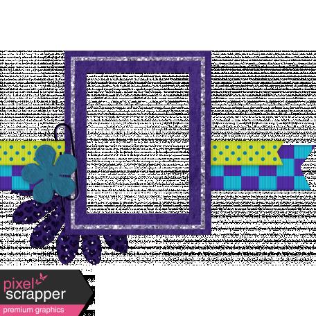 Purple & Blue Frame Cluster