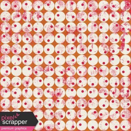 Circles 04 Paper - Orange & Pink