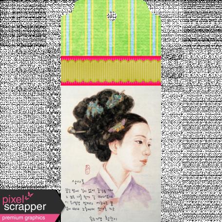 Korean Woman Tag