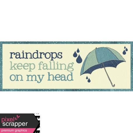 Rainy Days - Word Tag