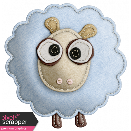 The Nerd Herd - Felt Sheep 1
