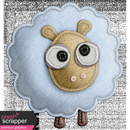 The Nerd Herd - Felt Sheep 2