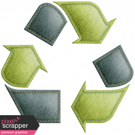 Earth Day Recycle Symbol Graphic By Melo Vrijhof Pixel Scrapper