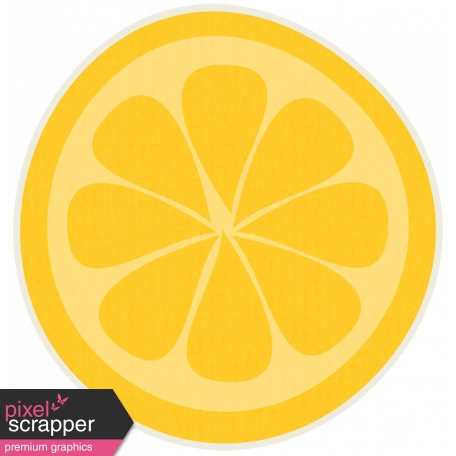 Sunshine & Lemons No2 - Lemon Sticker
