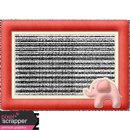 Oh Baby Baby - Elephant Frame