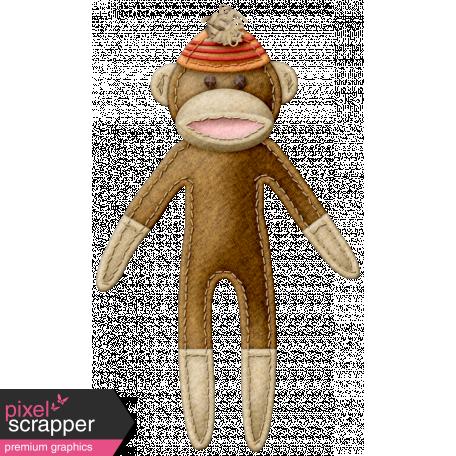 Oh Baby Baby - Sock Monkey