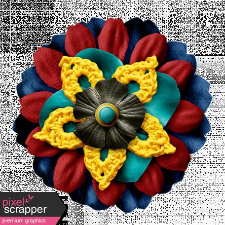 Arrgh! - Multi Colour Flower