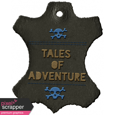 Arrgh! - Tales Leather Tag