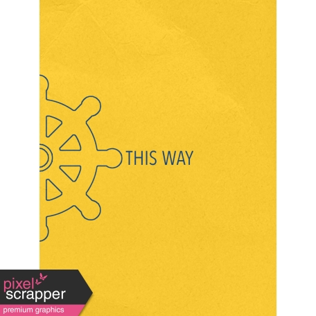 Arrgh! - This Way Journal Card